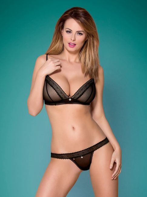 BH und String - Collection black sin