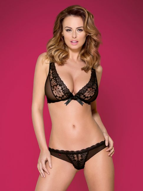 BH und String - schwarz - Collection Janina