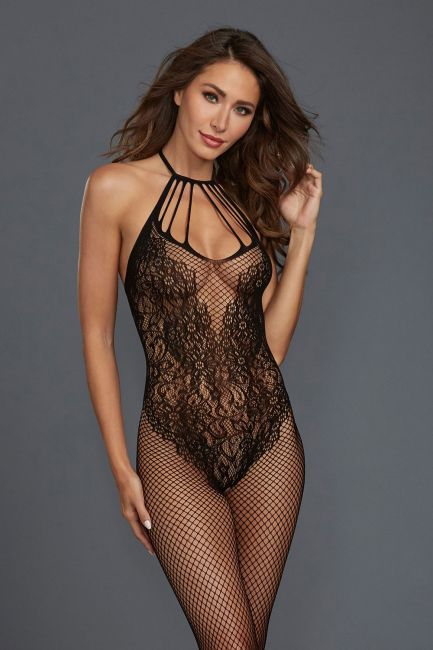 Bodystocking DR0326 schwarz