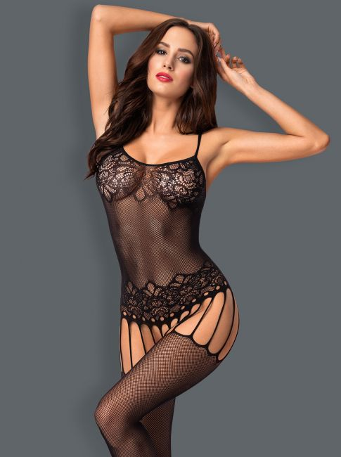 Bodystocking F235 schwarz