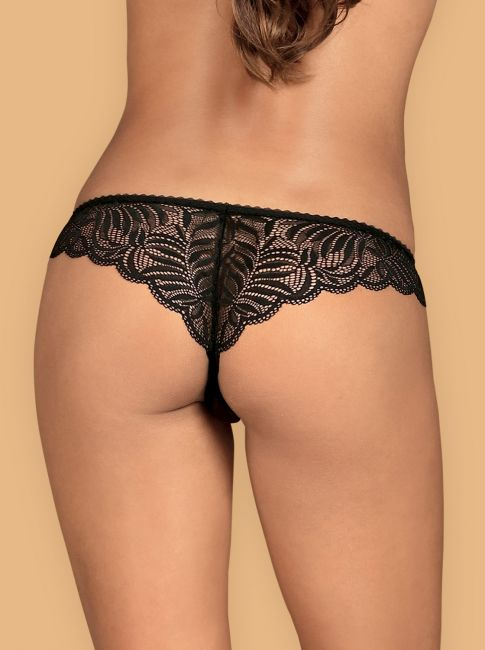 Contica Crotchless Thong
