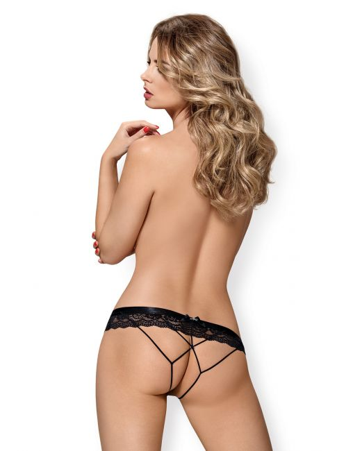 Crotchless Panties - schwarz - Collection Betty
