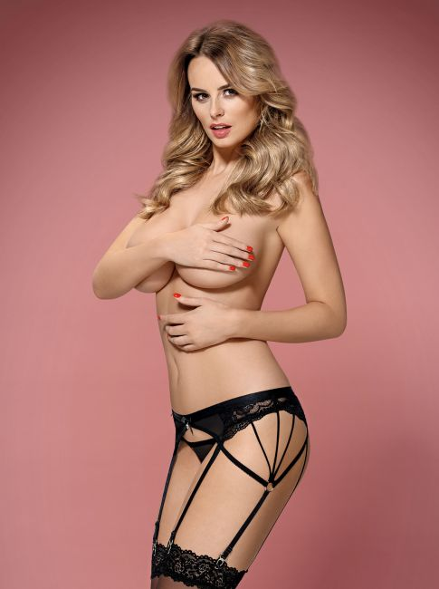 Garter Belt - schwarz - Collection Betty