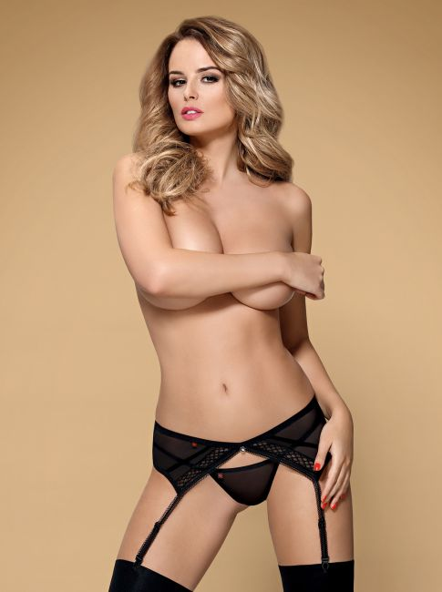 Garter Belt - schwarz - Collection Francis