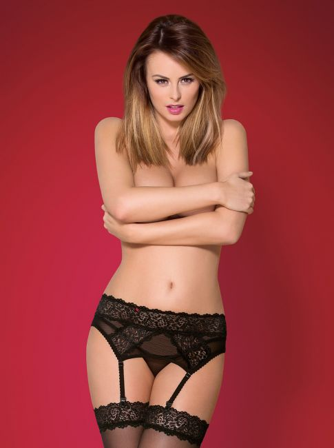 Garter Belt - schwarz - Collection Anna
