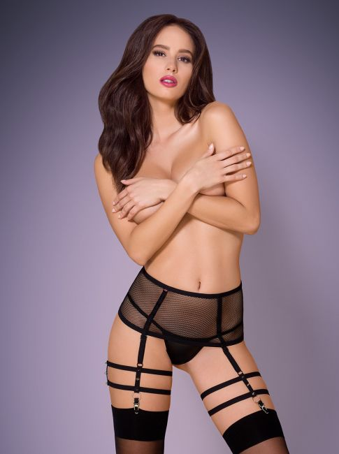 Garter Belt - schwarz - Collection Amelie