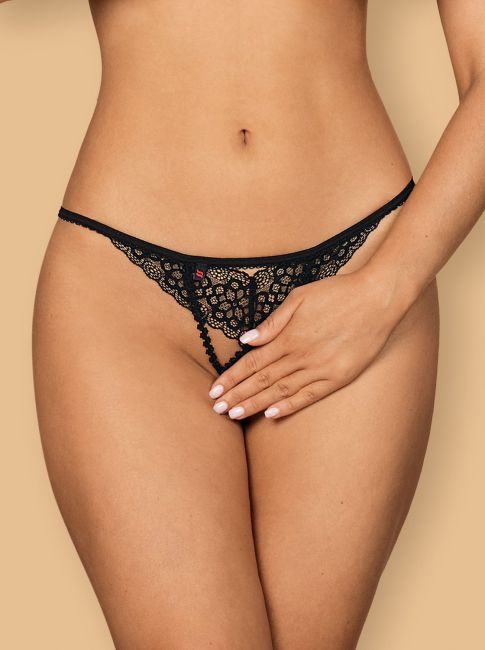 Liferia Crotchless Thong