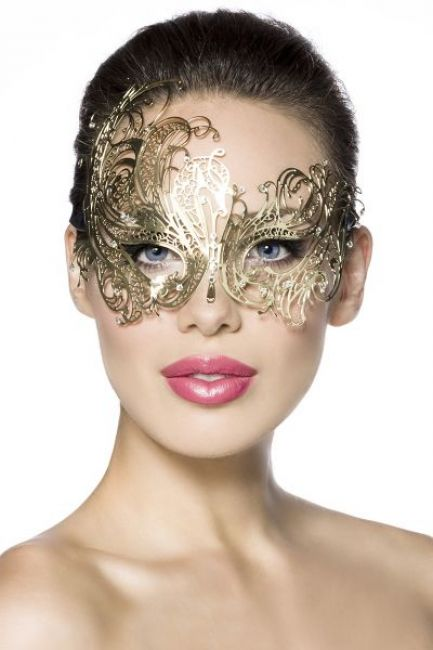 Metallmaske gold 1-13574-012