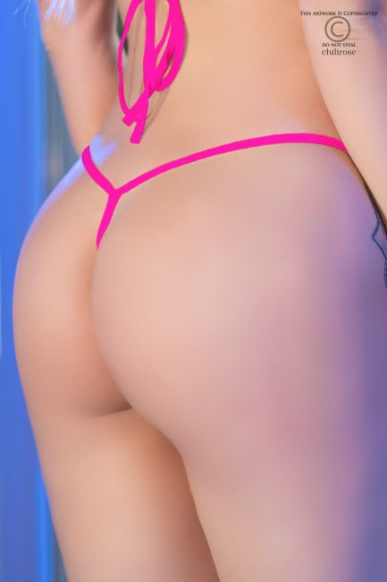 Mini-String CR4382 hot pink