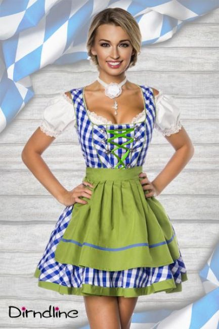 Traditionelles Minidirndl