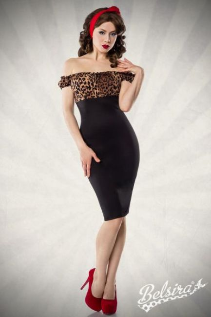 Vintage Pencil-Kleid