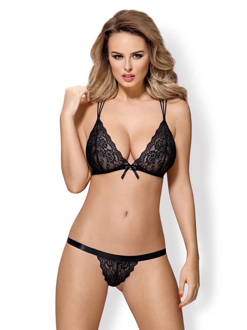 BH und String - schwarz - Collection Betty