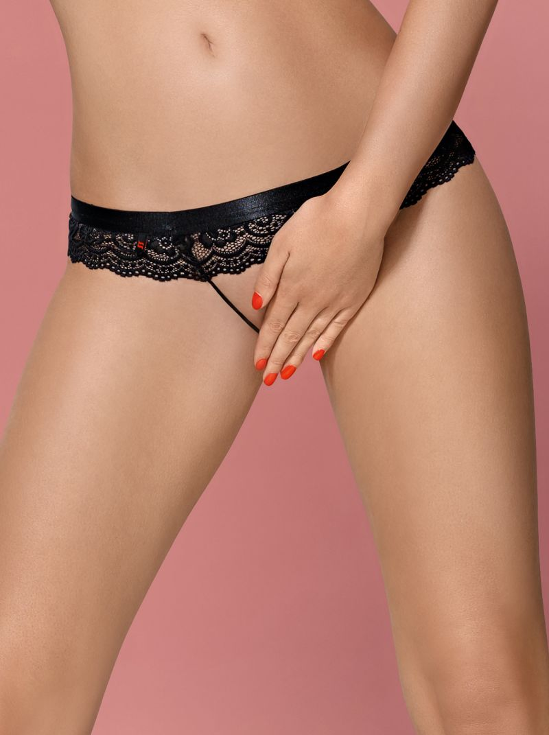 Crotchless Panties - schwarz - Collection Betty schwarz 2-6230